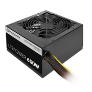 Thermaltake® Litepower 650 W Power Supply, Black (LTP-650NL2NK)