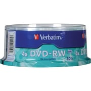 Verbatim® 4.7GB DVD Rewritable Media