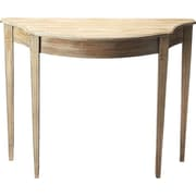 Astoria Grand Allsopp Console Table; Driftwood