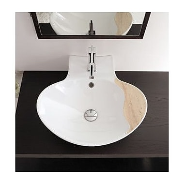 Scarabeo by Nameeks Zefiro 20.9'' Wall Mounted / Vessel Bathroom Sink