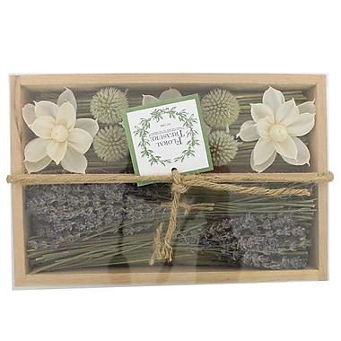 Floral Treasure English Lavender Nature Box Floral Arrangment