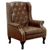 A&J Homes Studio Vaugh Wingback Chair