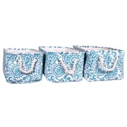 Jia Home Polyester 3 Piece Basket Set