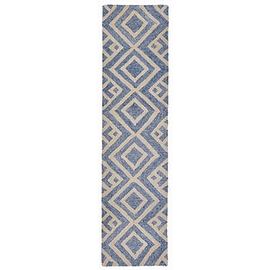 Liora Manne Wooster Hand-Tufted Denim Indoor/Outdoor Area Rug; 5' x 7'6''