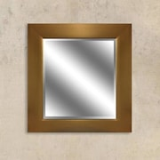 Y Decor Gold Reflection Beveled Wall Mirror