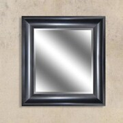 Y Decor Peyton Bronze Reflection Beveled Wall Mirror