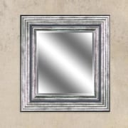 Y Decor Odessa Silver Reflection Beveled Wall Mirror