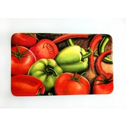 Home Fashion Designs Vegetables Printed Fleece Mat