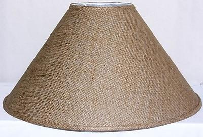 Gracie Oaks 23'' Linen Empire Lamp Shade; Off-White Linen