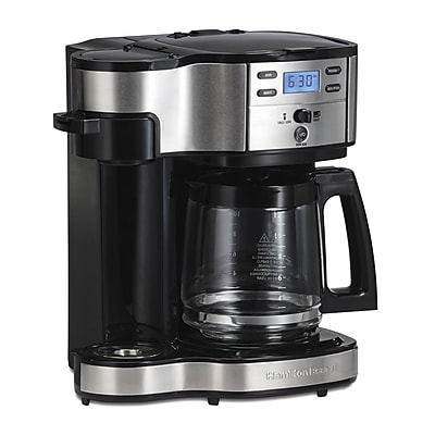 Hamilton Beach The Scoop Two Way 12 Cup Brewer Coffee Maker WYF078280055434