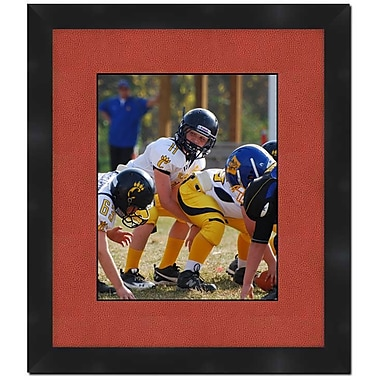Frames By Mail Wall Picture Frame w/ Football Textured Matte; 5'' x 7''