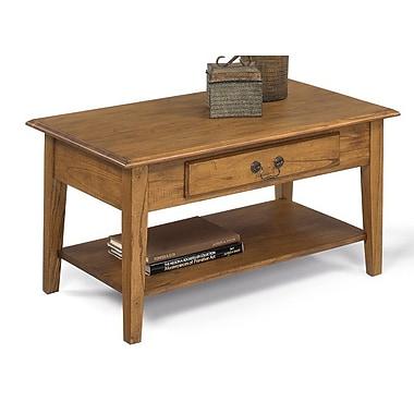 Red Barrel Studio Willow Creek Coffee Table; Medium Oak