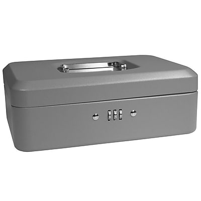 Barska Medium Gray Cash Box w/ Combination