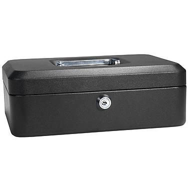 Barska Medium Black Cash Box w/ Key Lock
