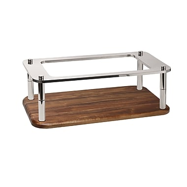 SMART Buffet Ware Domino Stainless Steel Tray Stand; 8'' H