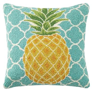 Suzanne Nicoll Studio Pineapple Hook Wool Throw Pillow