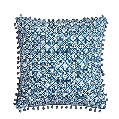 LUX-BED Magical Medallion Cotton Throw Pillow