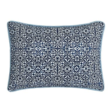 LUX-BED Magical Medallion Cotton Lumbar Pillow