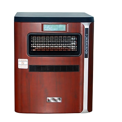 1,500 Watt Portable Electric Infrared Cabinet Heater w/ Air Purifier, Hepa Filter, Humidifier WYF078279844074