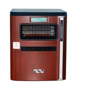 1,500 Watt Portable Electric Infrared Cabinet Heater w/ Air Purifier, Hepa Filter, Humidifier