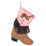 Zoomie Kids Shearling Lined Christmas Stocking