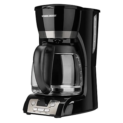 Black & Decker 12 Cup Coffee Maker w/ Programmable Clock WYF078279844166