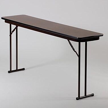 Correll, Inc. Rectangular Folding Table; 18'' x 60''