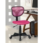 Wildon Home   Aquinnah Mesh Desk Chair; Pink