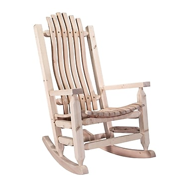 Loon Peak Abella Rocking Chair; Lacquered