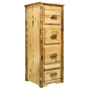 Loon Peak Tustin 4-Drawer File Cabinet