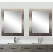 BrandtWorksLLC Matching Silver Wall Mirror (Set of 2)