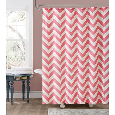 Varick Gallery Fort Washington Chevron Embossed Shower Curtain
