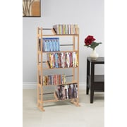 Rebrilliant Multimedia Storage Rack I; Maple