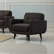 Roundhill Furniture Modibella Club Chair; Taupe