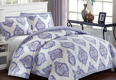 LUX-BED Grand Palace Comforter Set; Full/Queen