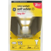 GE Frosted E26/Medium Incandescent Light Bulb; 65W