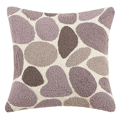Kate Nelligan Lucky Rock Hook Wool Throw Pillow