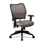 OSP Furniture Mid-Back Mesh Desk Chair; Latte