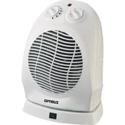 Optimus 1,500 Watt Portable Electric Fan Compact Heater w/ Thermostat