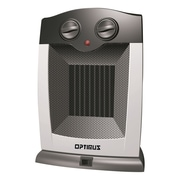 Optimus 1,500 Watt Portable Electric Compact Heater w/ Thermostat