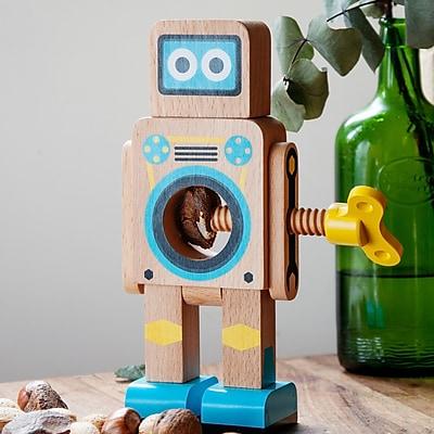 suck UK Small Robot Nutcracker; Natural