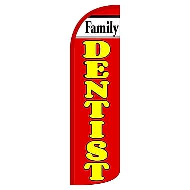 NeoPlex Family Dentist Deluxe Vertical Flag