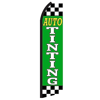 NeoPlex Auto Tinting Checkered Vertical Flag