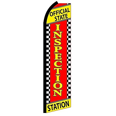 NeoPlex Inspection Official State Vertical Flag