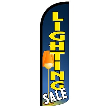 NeoPlex Lighting Sale Low Vertical Flag