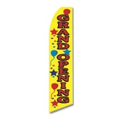 NeoPlex Grand Opening Balloons Vertical Flag
