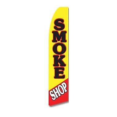 NeoPlex Smoke Shop Vertical Flag