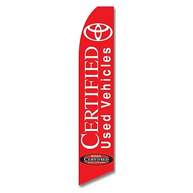 NeoPlex Certified Used Vehicles and Toyota Vertical Flag