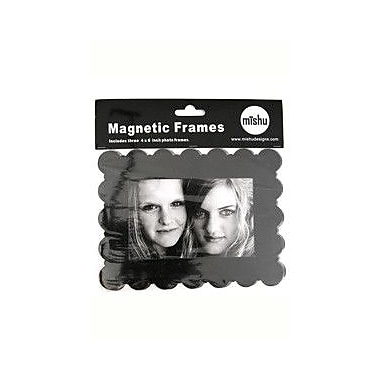 Mishu Designs Magnetic Frame (Set of 3); Black