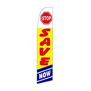 NeoPlex Stop Save Now Vertical Flag